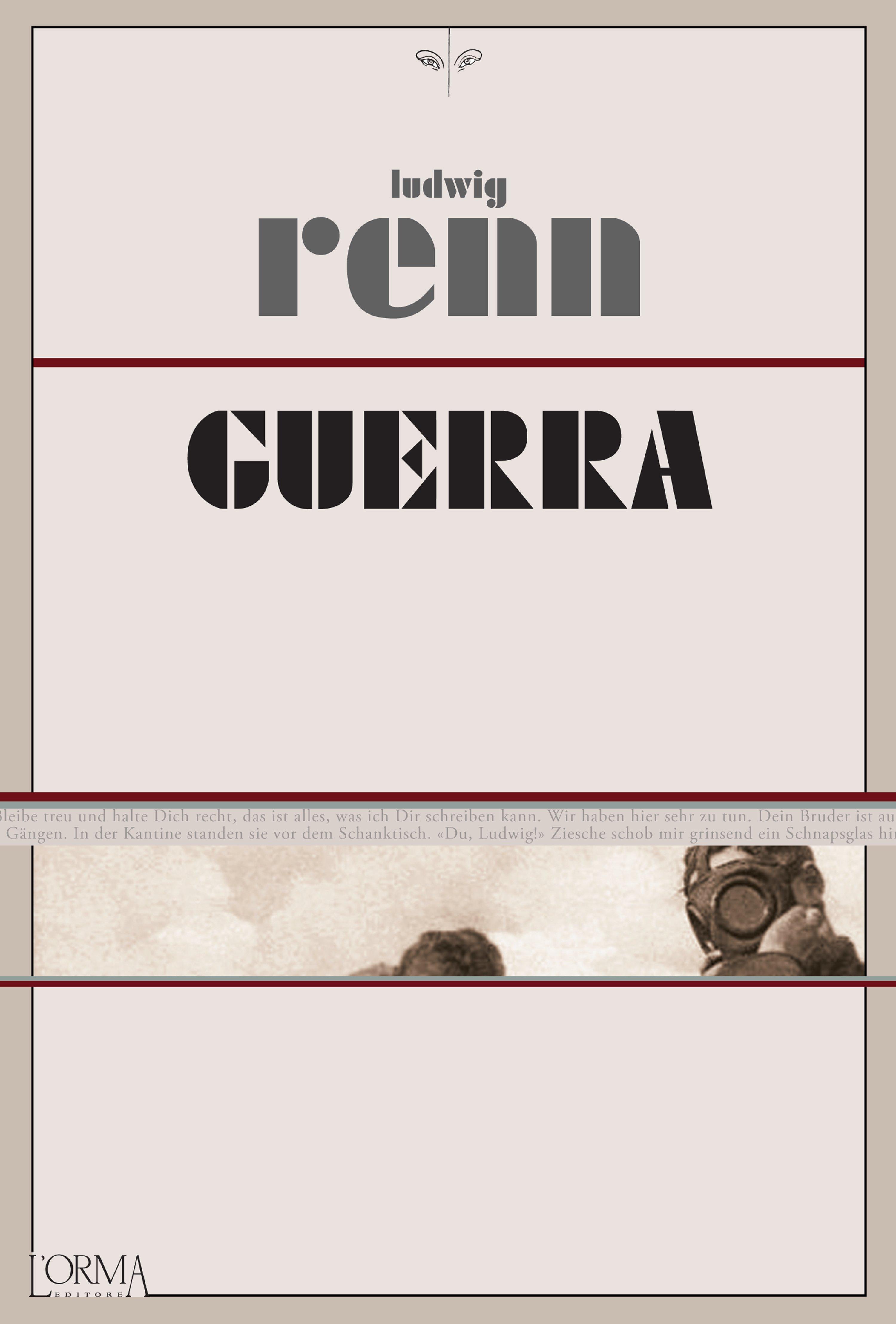 Risultati immagini per Renn: Guerra», L'Orma
